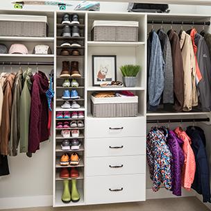 Hoosier Closets | Home Organization | Closets | Storage | Pantries ...