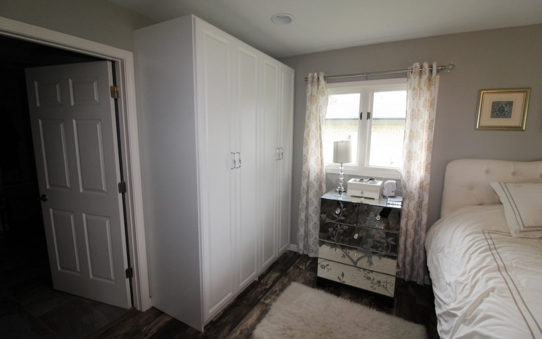 Creating More Closet Space in a Master Bedroom